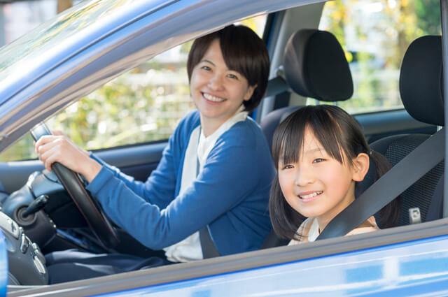 娘とドライブ,子育て,イライラ,