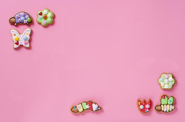 昆虫のアイシングクッキー,内祝い,クッキー,