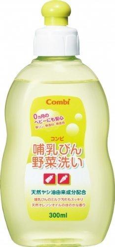 コンビ 哺乳びん野菜洗い 300ml,哺乳瓶洗剤,