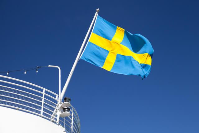 スウェーデンの国旗,イクメン,パパ,
