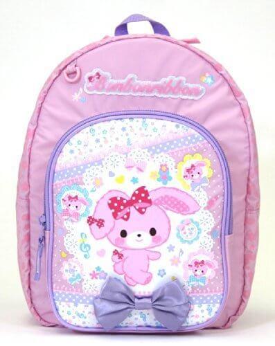 ぼんぼんりぼん 子供用リュックサック DパックM -キャラクターバッグ-,幼稚園,リュック,