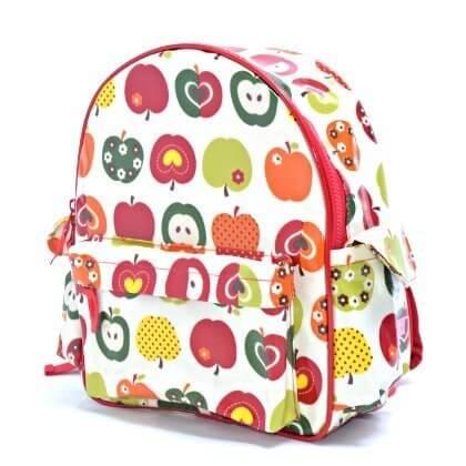いつも一緒のmy通園リュック おしゃれリンゴのひみつ(アイボリー) 日本製 N0618000,幼稚園,リュック,