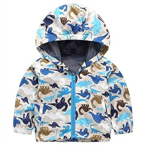 (ハイハート)Hiheart 子供 ウインドブレーカー 男の子 メッション パーカー 恐竜 100cm,キッズ,ジャケット,