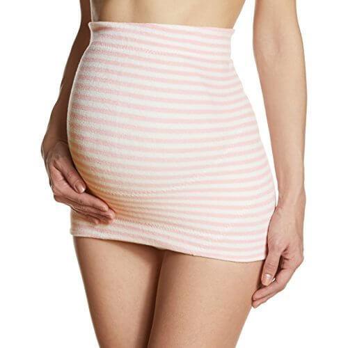 ワコール Wacoal 産前用腹帯(パイルボーダー) L~LL PI MRP487 おなかと腰をソフトにサポート,妊婦帯,
