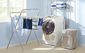 ニトリ洗濯機棚,おもちゃ,収納,ニトリ