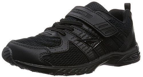 [シュンソク] SYUNSOKU 運動靴 (通学履き) マジックタイプ SJJ 1880 SJJ 1880 B/B (黒/黒/20.0),瞬足,