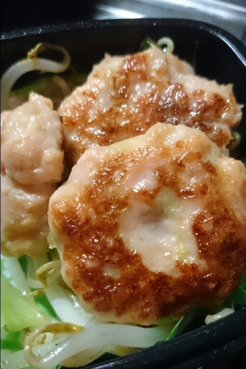 和風鮭ハンバーグ 離乳食やお弁当にも☆,お弁当,ハンバーグ,