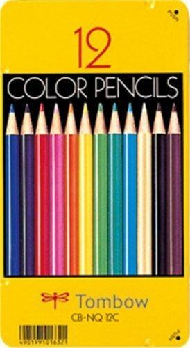 トンボ鉛筆 色鉛筆 NQ 12色 CB-NQ12C,色えんぴつ,