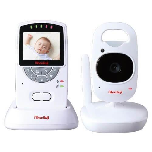 日本育児 デジタルカラースマートビデオモニターII 親機重さ約115g 子機重さ約125g 5000004001 0歳以降対象 さらに映像が滑らかになったビデオモニター,ベビーモニター,おすすめ,口コミ