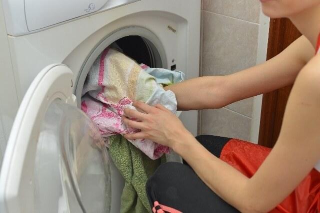 洗濯機,お弁当,バッグ,