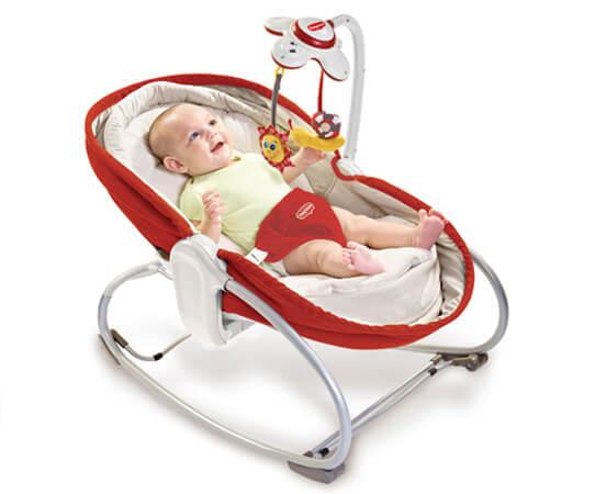 おひるねロッキングナッパー使用画像,おひるねロッキング・ナッパー,赤ちゃん,タイニー・ラブ