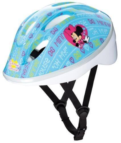 キッズヘルメット ミニーマウス ブルー Sサイズ,子ども,ヘルメット,
