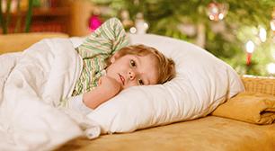 寝る子ども,解熱剤,1歳,不安