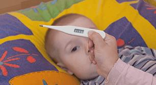 高熱を出した赤ちゃん,高熱,精巣,