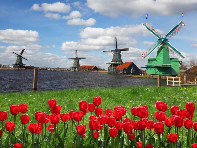 オランダの町並み,子連れ,海外旅行,