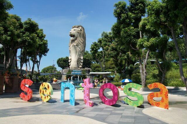 シンガポールセントーサ島,子連れ,海外旅行,