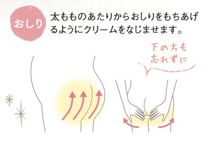 おしりケア,妊娠線,ケア,保湿