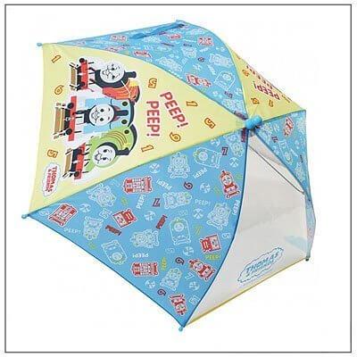 トーマス柄がかわいい40cm傘 【きかんしゃトーマス キッズ傘 40cm ブルー 60010】,子ども,傘,
