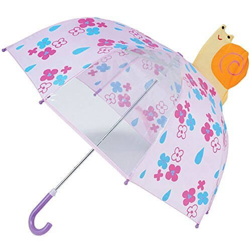 キーストーン 子供用 ビューアンブレラ 全15色 長傘 手開き スネイル 8本骨 45cm 90~100cm 窓付き傘 VIUMSN [正規代理店品],子ども,傘,