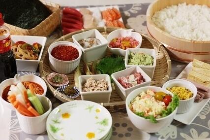 3月のライオン川本家手巻き寿司,ひな祭り,寿司,