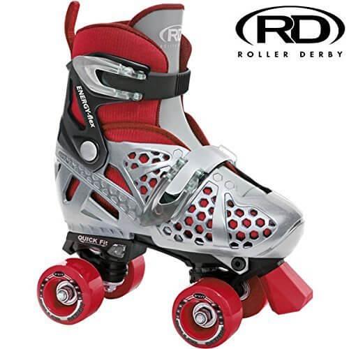 ローラースケート ROLLER DERBY TRAC STAR Boys RDU1371 ローラーダービー M(約18-21cm),子供,ローラースケート,