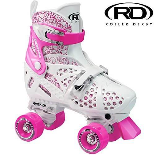 ローラースケート ROLLER DERBY ローラーダービー TRAC STAR Girls RDU1971 L(21.0-24.0cm),子供,ローラースケート,