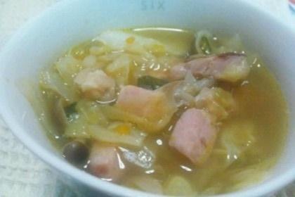 芯からポカポカ、コンソメ野菜スープ,生後9ヶ月,離乳食,