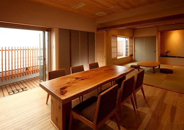 松本楼の客室「君松」,ホテル松本楼,
