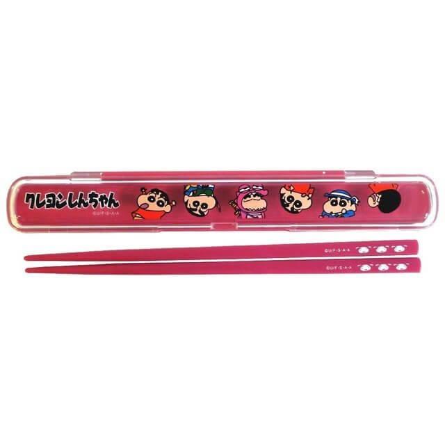 クレヨンしんちゃん 箸&ケース の写真,クレヨン,しんちゃん,大好き