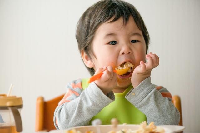 ご飯を食べる男の子,コツ,好き嫌い,なくす