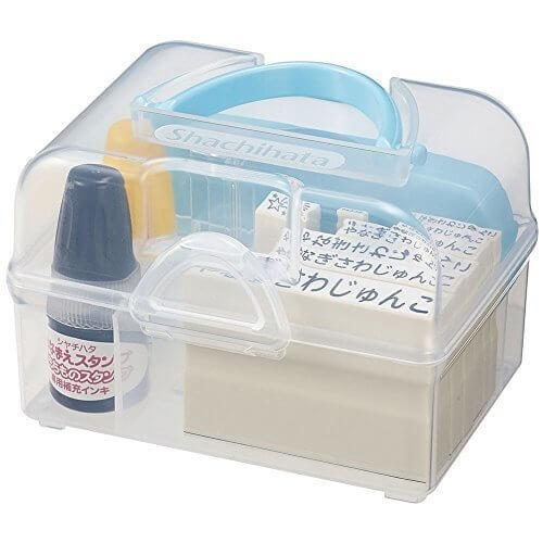 シヤチハタ おなまえスタンプ入学準備BOX(メールオーダー式) GAS-A/MO,保育園,入園準備,