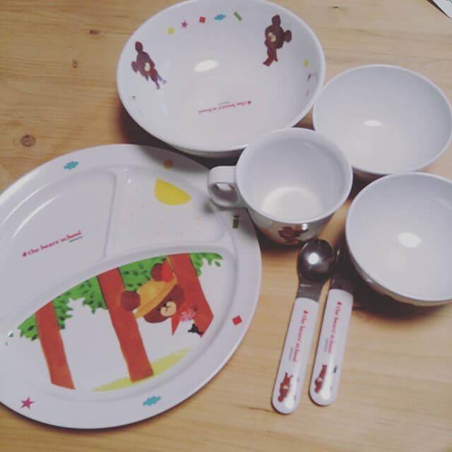 子ども用食器 くまのがっこう,子ども,食器,おすすめ