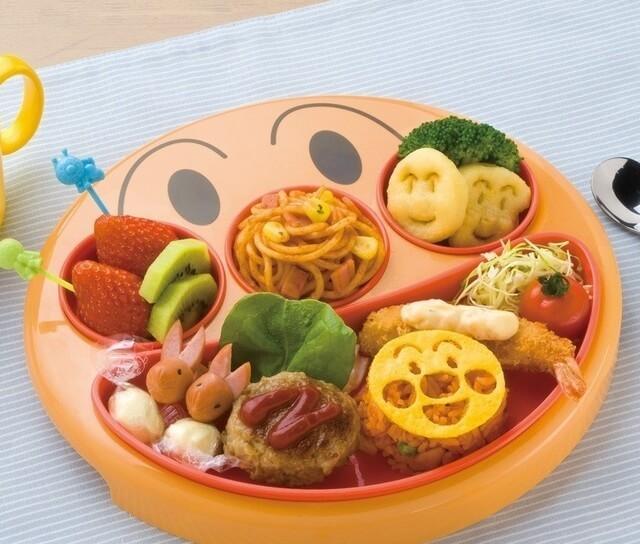 レック アンパンマン フェイス ランチ皿,子ども,食器,おすすめ