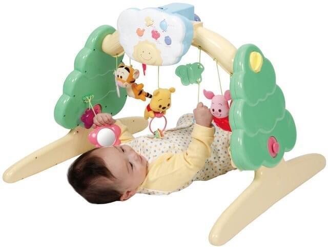 6WAYジムにへんしんメリー,赤ちゃん,発達,ベビーおもちゃ