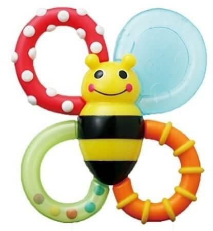 【歯固めラトル】バンブル・バイツTYSA618,赤ちゃん,発達,ベビーおもちゃ