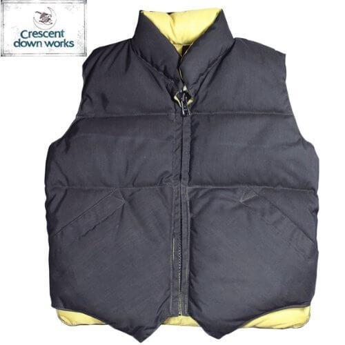【CRESCENT DOWN WORKS】Kids Down Vest -60/40 Cloth- 【クレセント・ダウン・ワークス】キッズ ダウン ベスト -60/40クロス- ★BLACK 3(95),ベビー,ベスト,