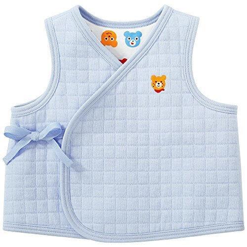ミキハウス ホットビスケッツ(MIKIHOUSE HOT BISCUITS) リバーシブル胴着 50-70cm ブルー,ベスト,新生児,選び方