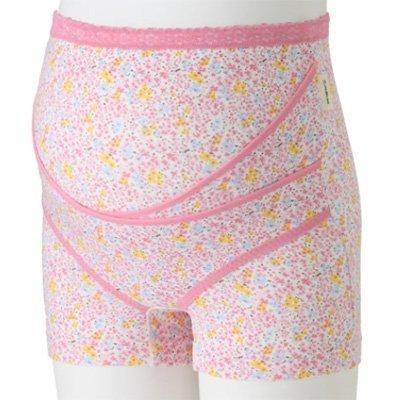 犬印本舗 クロスサポートらくばき妊婦帯 L ピンク 綿 HB8377,産前ショーツ,おすすめ,選び方