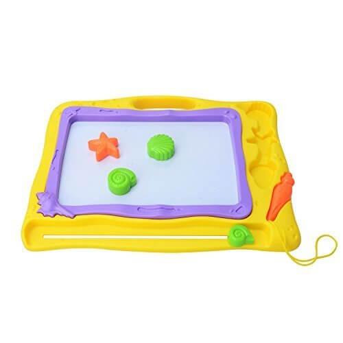MOOBOM 4色 おえかきボード せんせい マグネットボード 知育玩具 ラーニングトイ 誕生日プレゼント、クリスマスギフト,お絵かきボード,おすすめ,人気