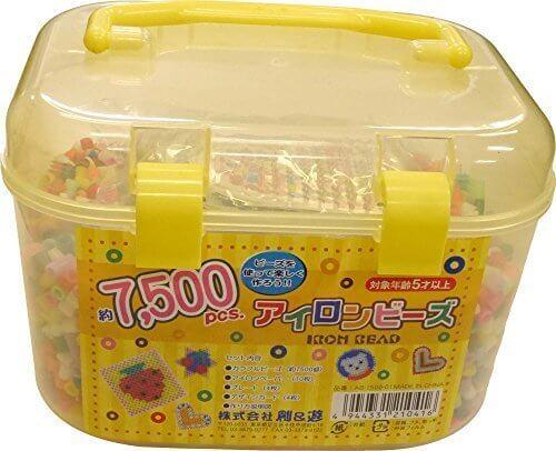 創&遊 アイロンビーズ 約7500ピース 基本セット AB-1500-01,アイロンビーズ,セット,おすすめ