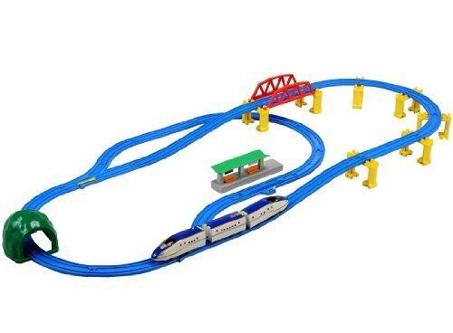 プラレール E7系北陸新幹線かがやき 立体レールセット,プラレール,おすすめ,セット