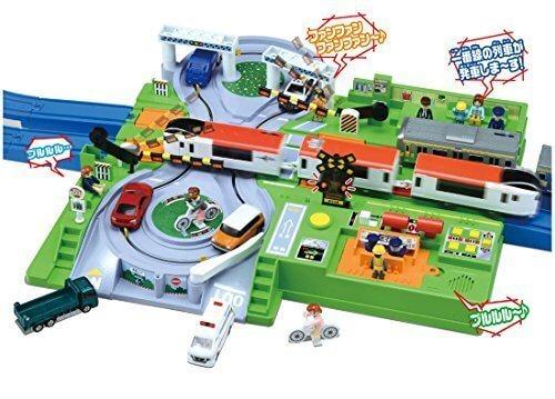 プラレール トミカと遊ぼう!DX踏切ステーション,プラレール,おすすめ,セット