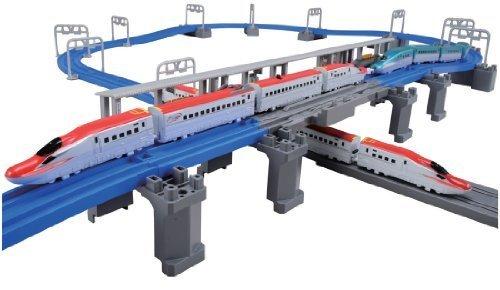 プラレール アドバンス E6系新幹線 連結&立体交差レールセット,プラレール,おすすめ,セット