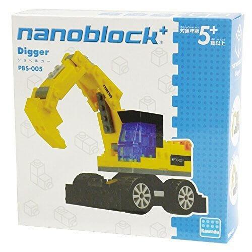 ナノブロックプラス ショベルカー,ナノブロック,種類,おすすめ