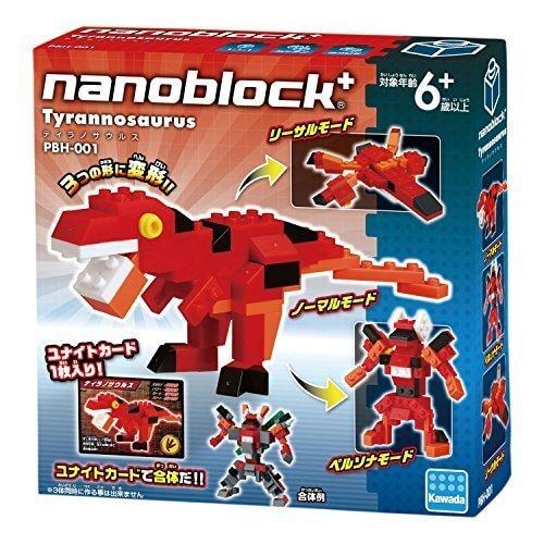 ナノブロックプラス ティラノサウルス,ナノブロック,種類,おすすめ