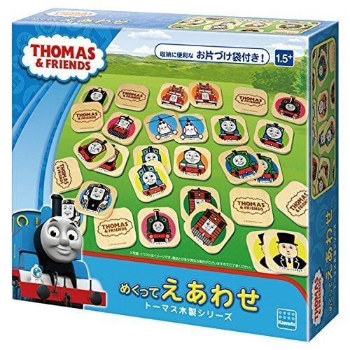 トーマス木製シリーズ めくってえあわせ TWT-006,人気,トーマス,おもちゃ