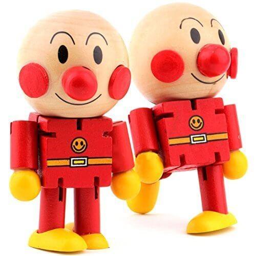 (トイホーム)Toy home アンパンマン 木製人形 バラエティ  子供知育玩具 手と足が変化,人形,可愛い,おすすめ