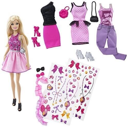 Barbie バービー デコってキュート!ファッションセット(CDM12),人形,可愛い,おすすめ