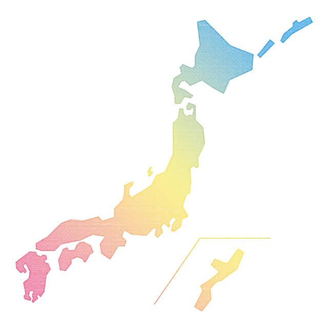 日本地図,日本,地図,ポスター