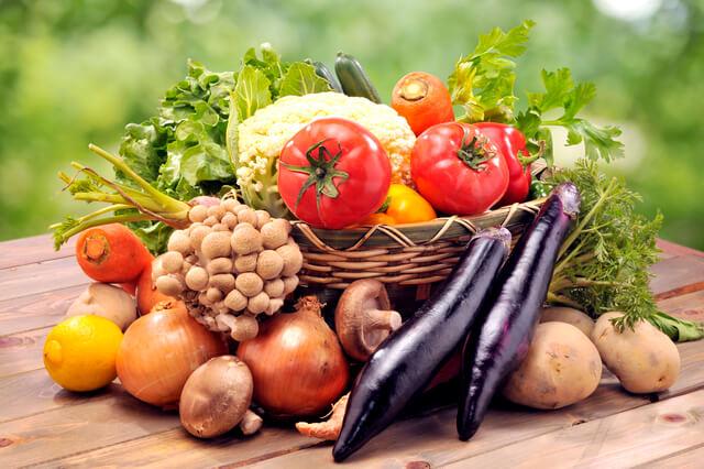 野菜が入った籠,大宮駅,子連れ,個室ランチ